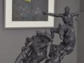 """""""Apocalisse"""" par Ettore Greco & """" Une distorsion"""" par Arnaud Franc"""