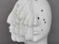 H : 27 cm - Porcelaine - 1000 €